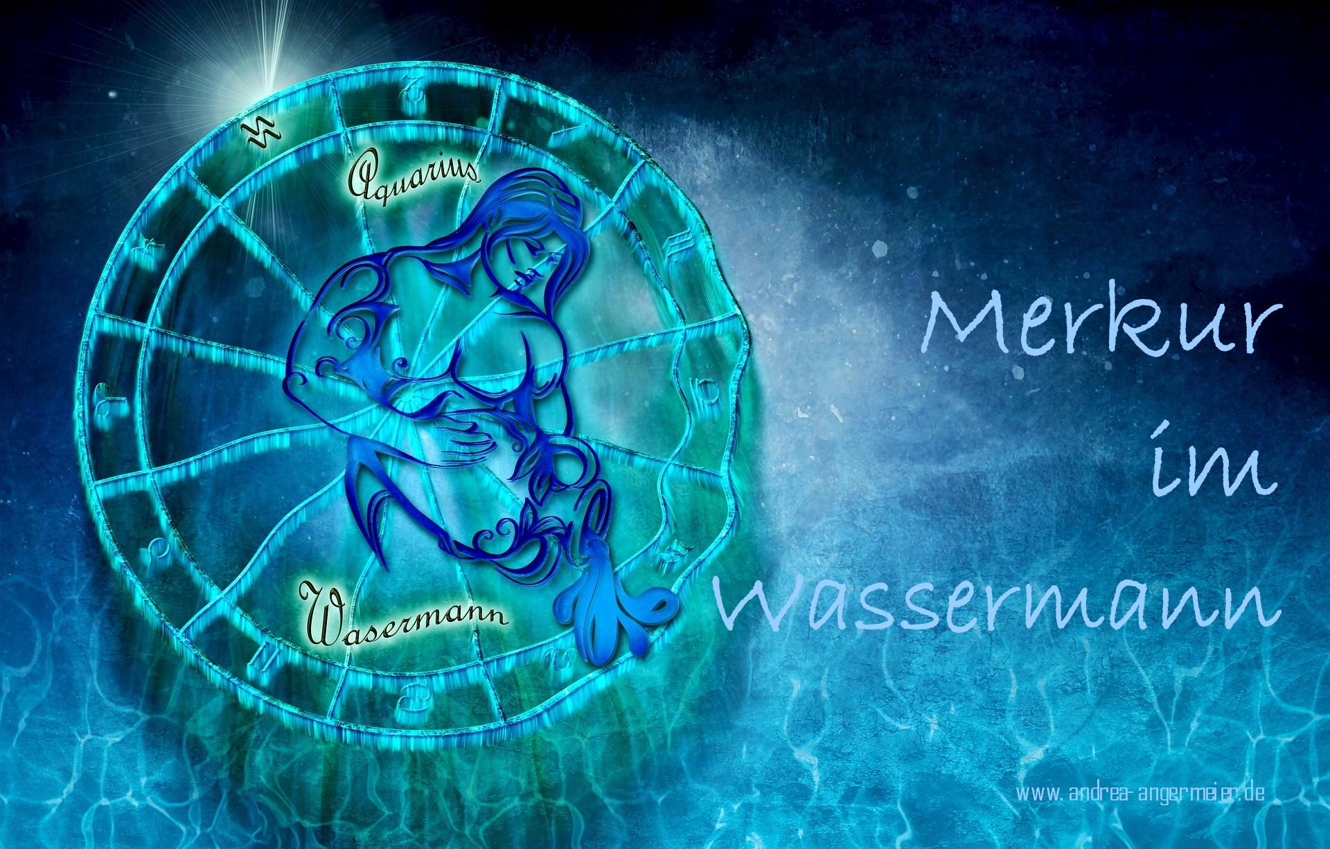 Merkur im Wassermann - Andrea Angermeier