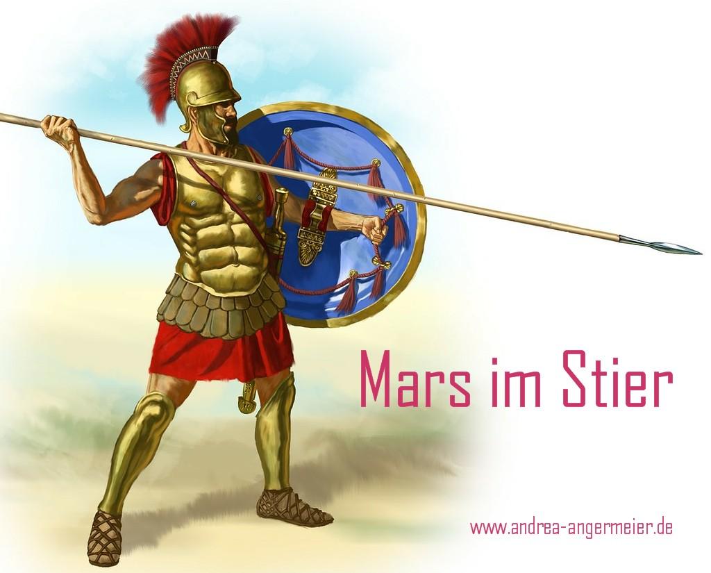 Mars im Stier
