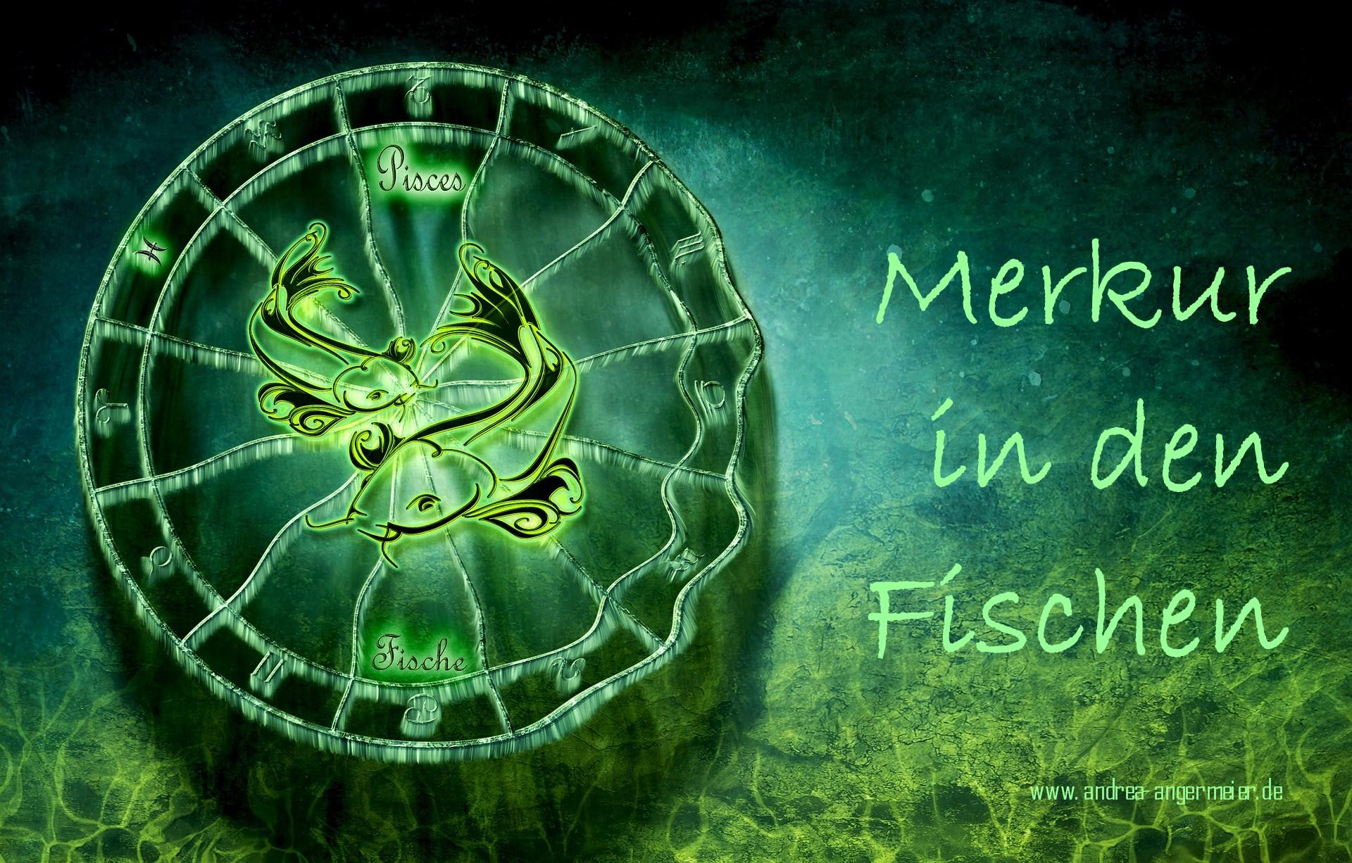 Merkur in den Fischen